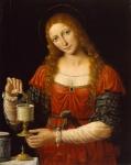 35. Andrea Solario. Mary Magdalen. ca. 1524