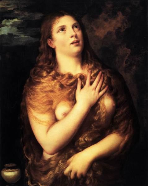 Ticiano. Sta Maria Madalena penitente. 1533.