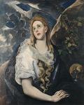 44. El Greco. Santa Maria Madalena. Ca. 1580.