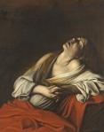 48. Caravaggio.. Maria Madalena em êxtase.1606.