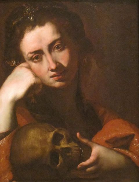 Angelo Caroselli. The Penitent Magdalene, c. 1620, San Diego Museum of Art.