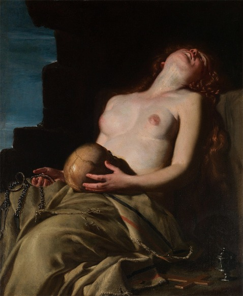 Artemisia Gentileschi - Madalena desmaiada, ca 1653.
