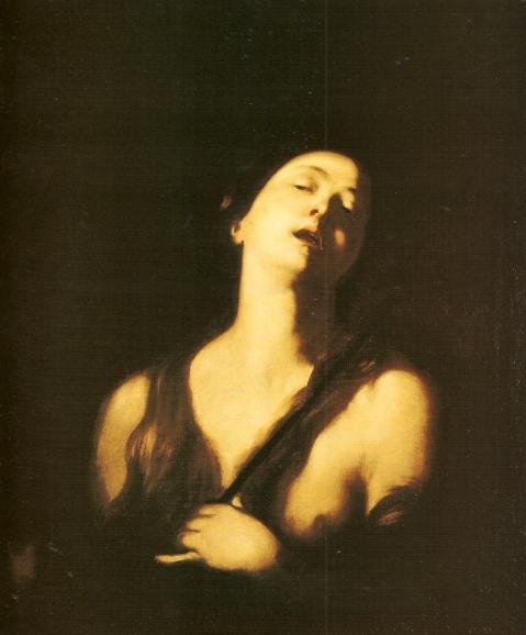 Andrea Vaccaro. Madalena em êxtase. 1654.