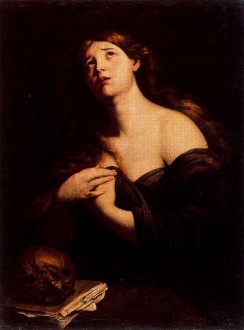 A. Vaccaro. Magdalena penitente. Séc. XVII.