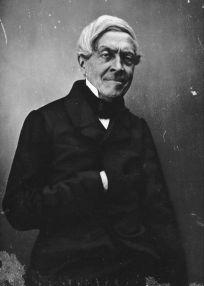Fotografia de Jules Michelet por Félix Nadar.