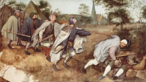 Pieter Bruegel. A Parábola dos Cegos. 1568.