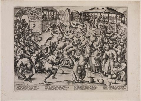 The Festival of Fools. after 1570. After Pieter Bruegel.