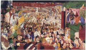 04. James Ensor. Christ's Entry into Brussels in 1889. 1888