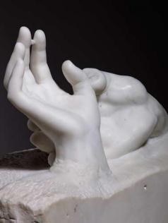 Figura 2. Auguste Rodin. Mãos de Amantes. 1904.