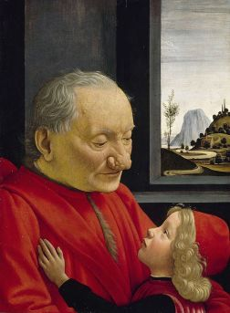 Domenico Ghirlandaio, An Old Man and His Grandson, C. 1490.