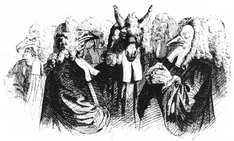 Grandeville. Gulliver's travels. Séc. XIX,
