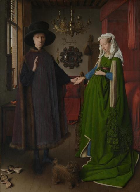 Jan Van Eick. O casal  Arnolfini. 1434