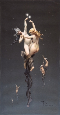 Luís Ricardo Falero,_Luis_Ricardo. L'étoile double: ca. 1881.