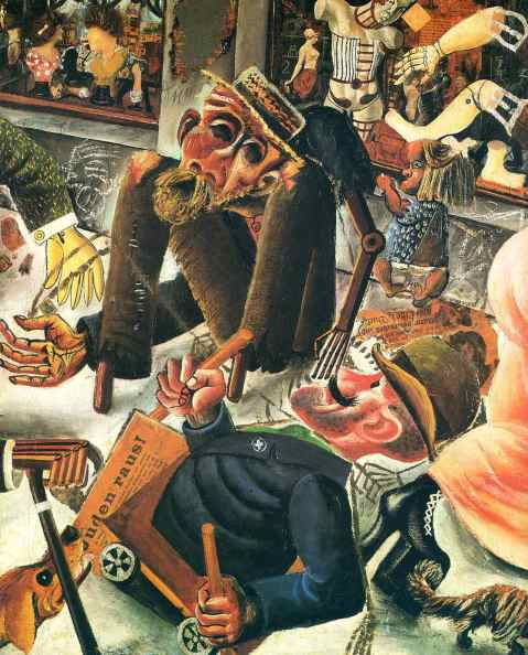 Otto Dix. Pagerstrasse. 1920.