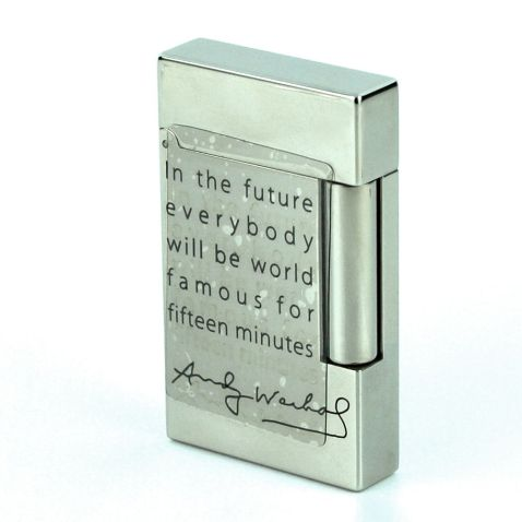 S.T. Dupont Andy Warhol Limited Edition - Marilyn Monroe Line 2 Lighter.