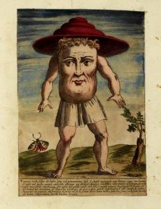 Ulisse Aldrovandi's 1642 book, History of Monsters (Monstrorum Historia)