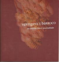 Vertigens do barroco. Capa do catálogo.
