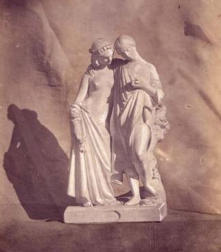 James Pradier (1790-1852) l'oiseau tombé du nid.