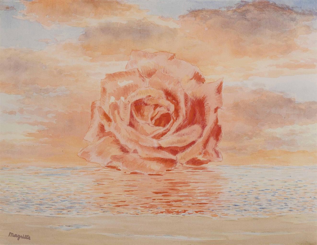 Rene Magritte (1838-1967) L'invitation au voyage, 1961