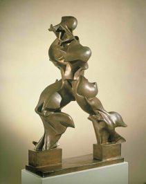 Umberto Boccioni. Unique Forms of Continuity in Space. 1913.