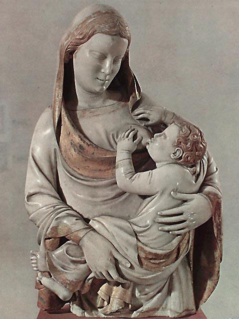 Andrea Pisano, Madonna Del Latte, Pisa, 1343-1347.