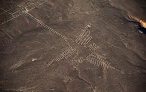 Colibri. Nazca. Perú.