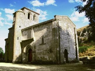 Nuestra Sra del_Valle. Monasterio de Rodilla. Espanha. Séc. XII.