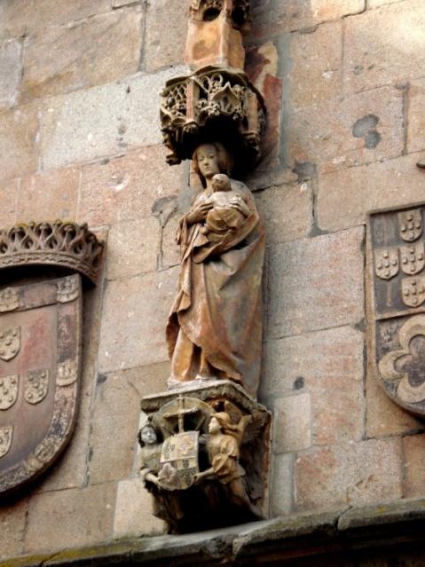 Senhora do Leite. Sé Catedral de Braga.