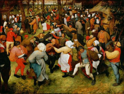 Pieter Brueghel the Elder. The Wedding Dance, circa 1566.