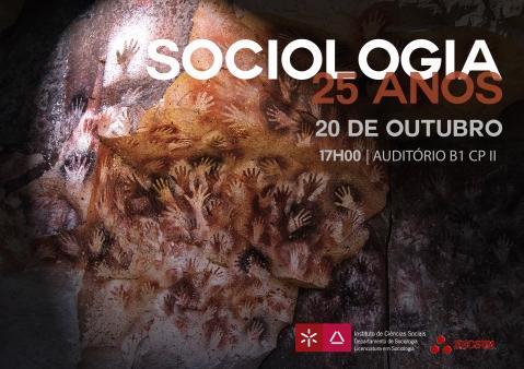 Sociologia 25. Versão do cartaz