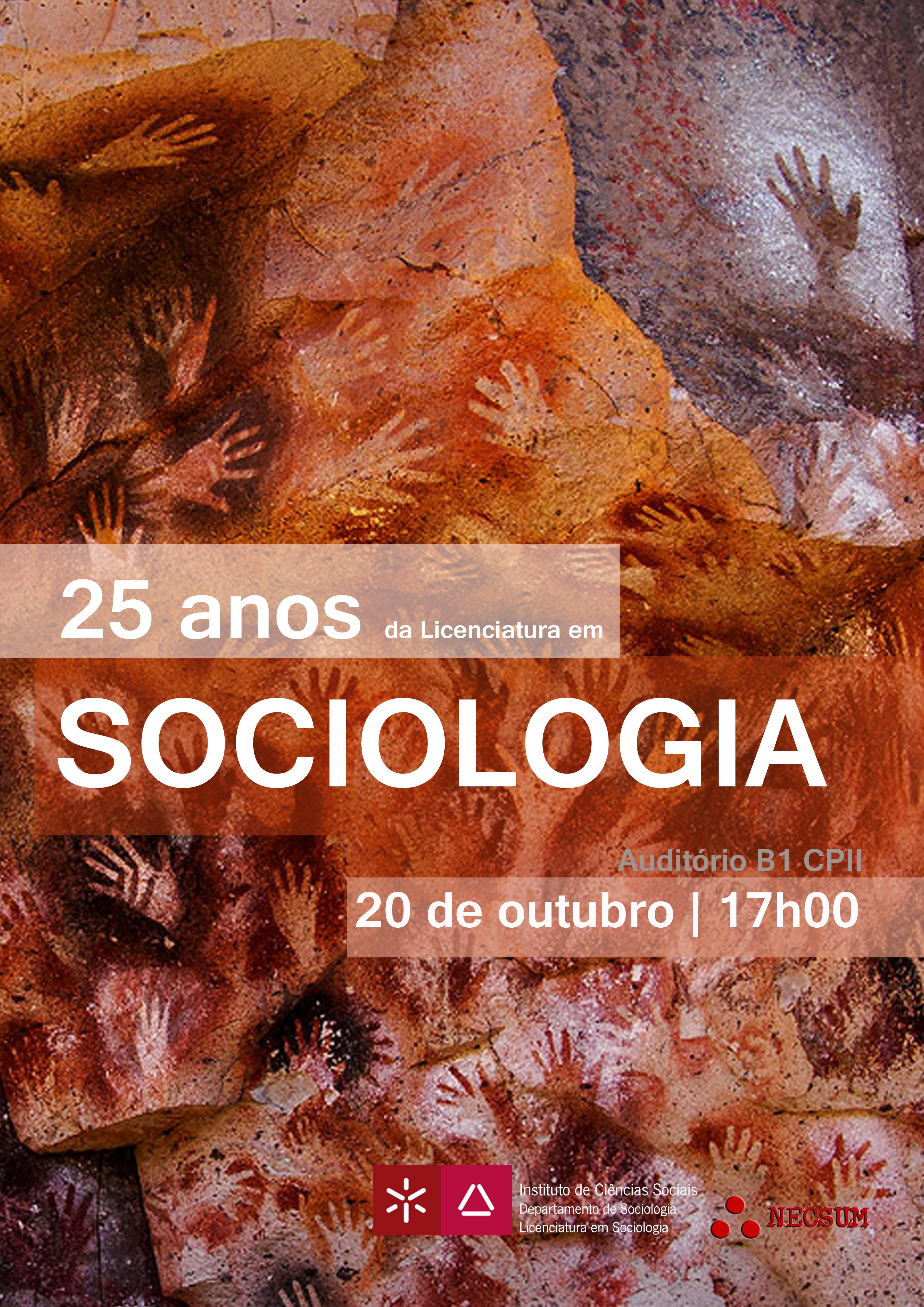 Sociologia 25. Versão do cartaz.