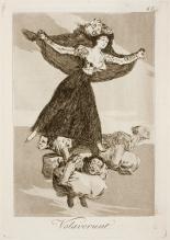 01. Goya. Capricho 61. Volaverunt. 1799.