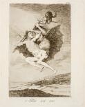 03. Goya. Capricho 66. Allá vá eso. 1799.