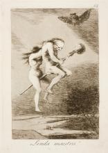 04. Goya. Capricho 68. Linda maestra! 1799.