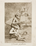 05. Goya. Capricho 70. Devota profesion. 1799.
