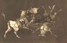 Goya. Folly of the Bulls, circa 1815.