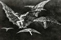 08. Goya. Disparate 13. Modo de volar. 1815-24