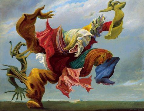 08. Max Ernst. The Triumph of Surrealism, 1973.
