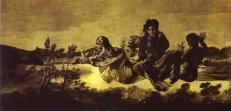 10. Goya. Atropos o Las Parcas. 1820-1823