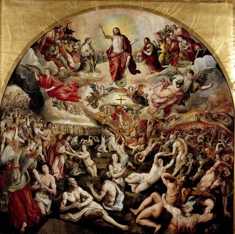 Marten de Vos. Juízo Final. 1570