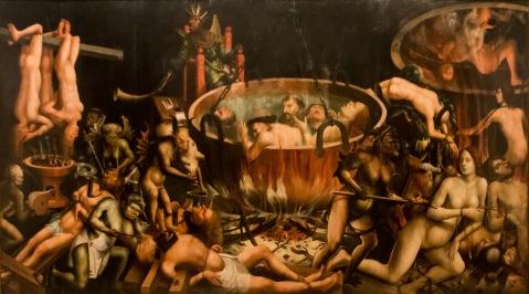 Inferno. Museu Nacional de Arte Antiga. c. 1510-1520.
