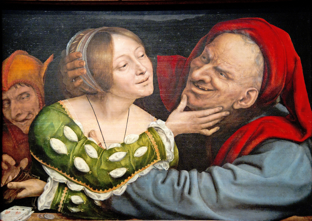 Quentin Massys. Matched Lovers, c. 1520.525