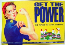 Clorox. Get the Power. Anos 1940.