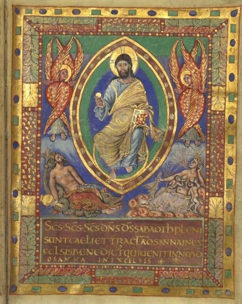 Sacramentário de Charles le Chauve. Século IX.