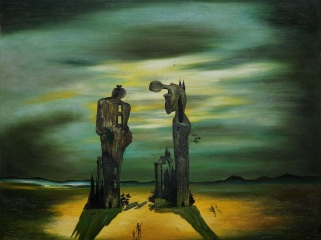 Salvador Dali.The Angelus. 1935.