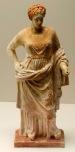 02. Corinthian terracotta statue of Aphrodite 4th century BC . - Cópia