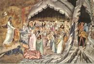 05. Andrea Boniauto. Descent of Christ. LLimbo, 1365-1368.