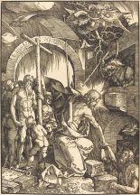07. Albrecht Dürer - Christ in Limbo. 1510.