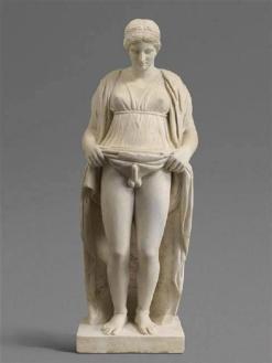12. Hermafrodita. Império romano. 27 ac-476 dc. Museu do louvre. - Cópia