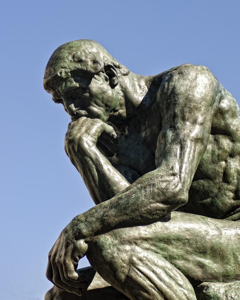 Auguste Rodin. O Pensador.  1902.
